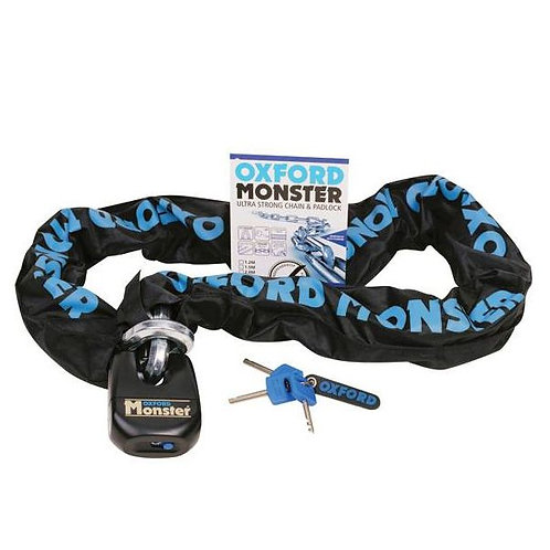 Oxford Monster Chain and Lock 1.2m OF801
