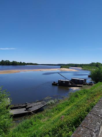 Paysage de la Loire