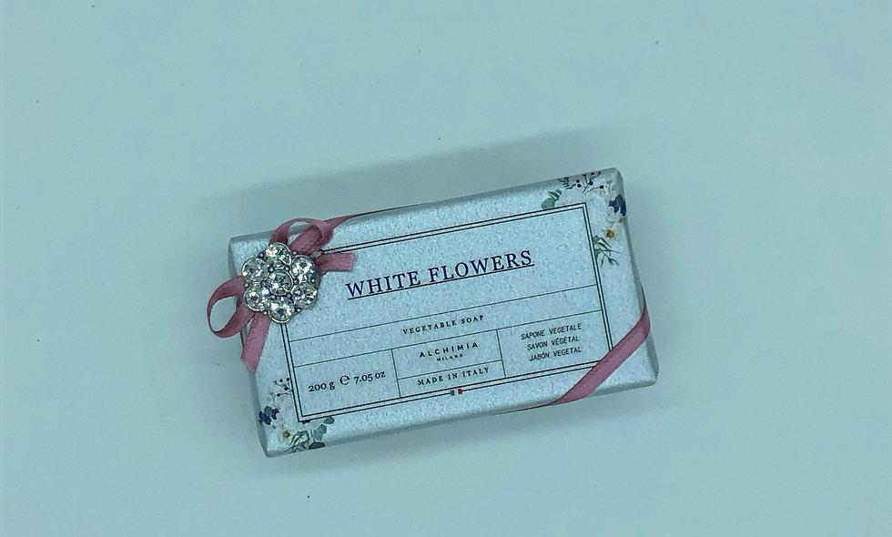 WHITE FLOWER SAPONE VEGETALE 200G