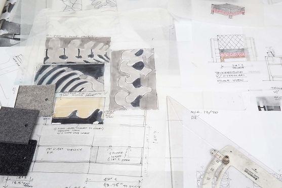 Sabina Hill - sketches