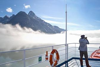 Arctic mountain view