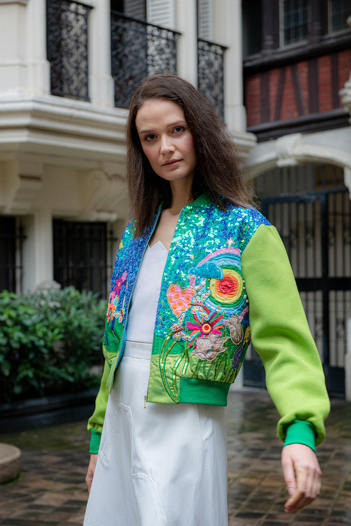Manish Arora sequin jacket