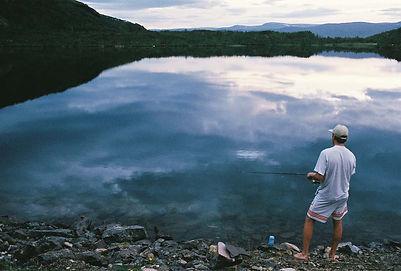 Fishing + Long Drink