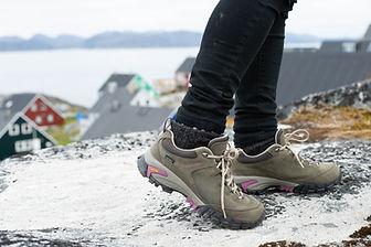 Vasque hiking in Greenland