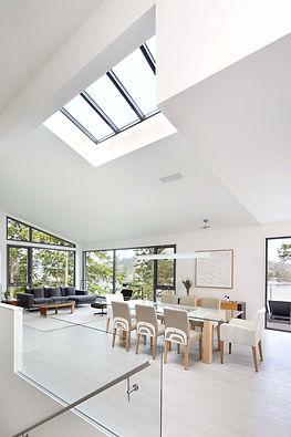 Sabina Hill - skylight above dining