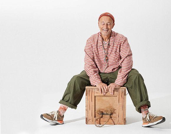 portrait of Nigel Cabourn-Mayfield