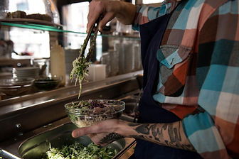 Fresh ingredients - Le Bichat