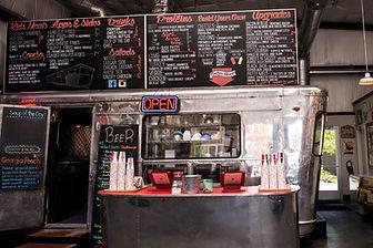 Slick's Burgers menu