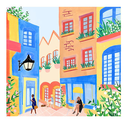 Neal's Yard by Laura Page
