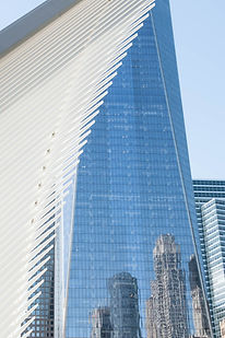 Reflective Freedom Tower