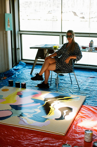 Jenny Sharaf Studio Portrait - Photo Credit: Rob Schanz
