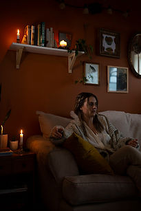 Faith Lamoureux in her Halifax home