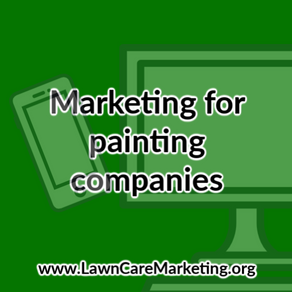 Marketing for painting companies