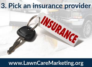 3. Pick an insurance provider