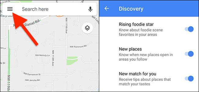 New Google Maps Updates