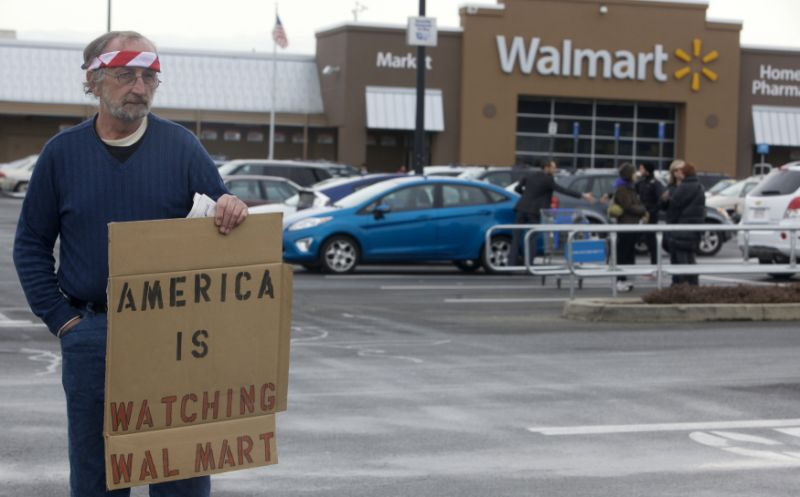 Blame Government Failure Not the Citizens, Say's Freedom Movement USA Chairman in Response to Walmarts ban on open carry and cessation of sales on ammunition.