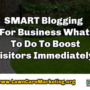 SMART Blogging For Business What To Do To Boost Visitors Immediately!