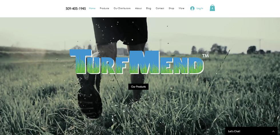 Quality Lawn Care Website Design