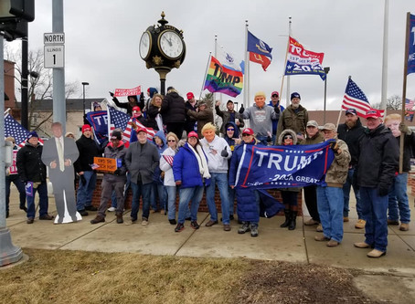 Freedom Movement USA Responds to False Allegations of Anti LGBT'Q Support at Crete Trump rally.