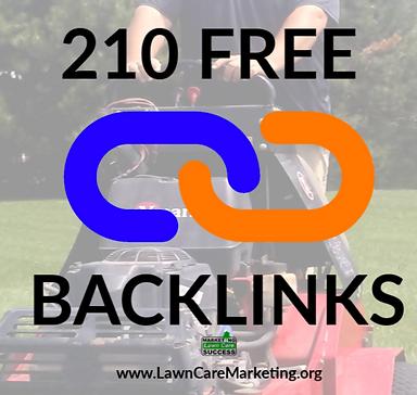 210 FREE BACKLINKS