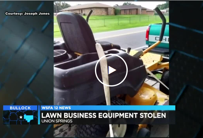 nion Springs man loses lawn care enterprise overnight