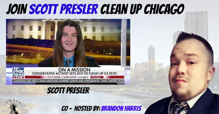 Freedom Movement USA announces Federal PAC filing the same week the Co-Host Scott Presler's Chicago Clean Up