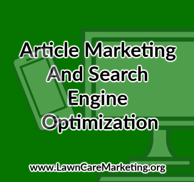 Article Marketing And Search Engine Optimization