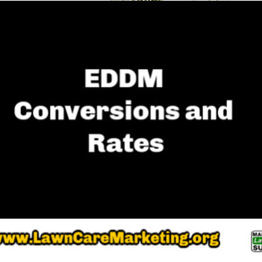 EDDM Conversions and Rates