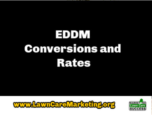 EDDM Conversions and Rates