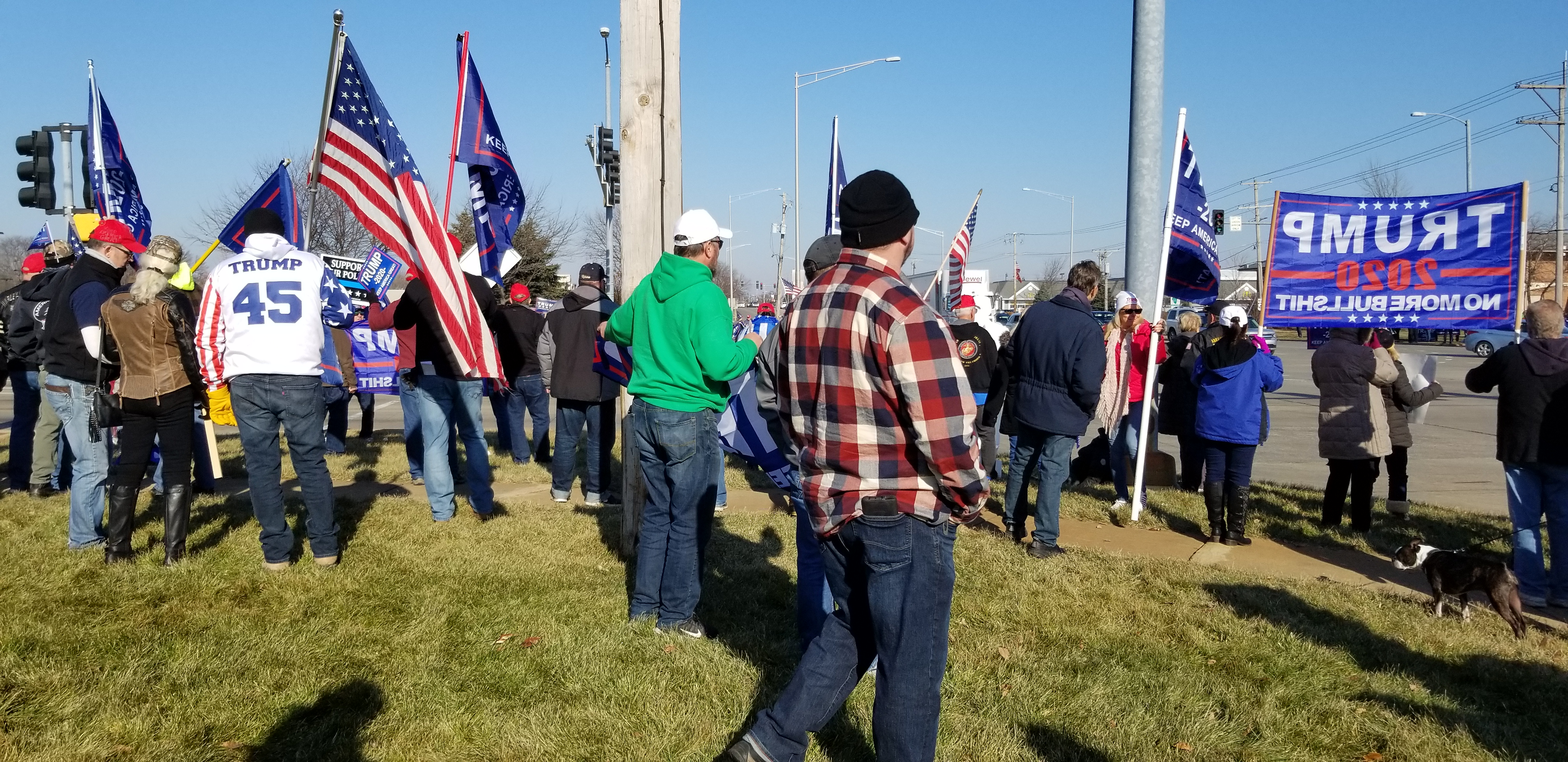 Joliet Trump 2020 Rally