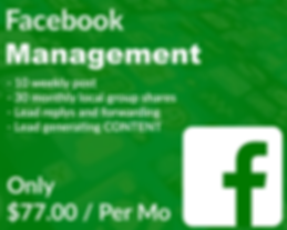 77 dollar a month facebook managment pac