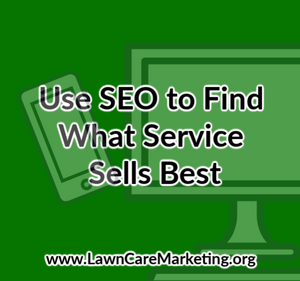 Use SEO to Find What Service Sells Best