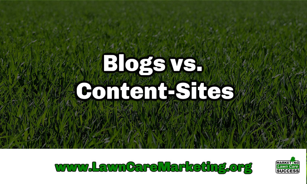 Blogs vs. Content-Sites