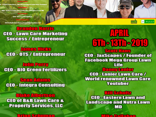 First Ever  Annual Lawn and Landscape Influencer Online Summit.