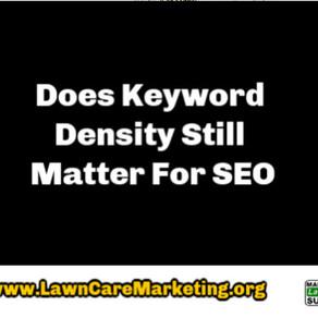 Does Keyword Density Still Matter For SEO