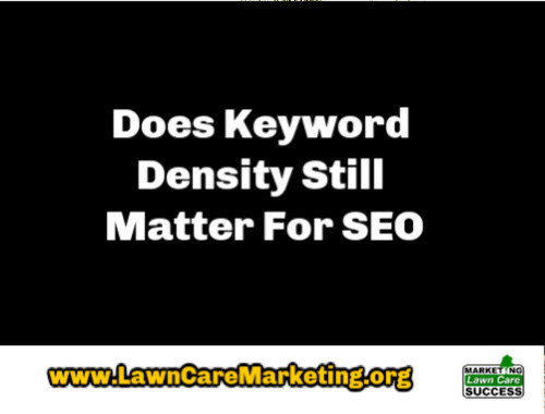 Does Keyword Density Still Matter For SEO