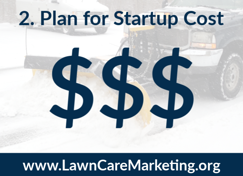 2. Plan for Startup Cost