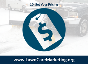 10. Set Your Pricing