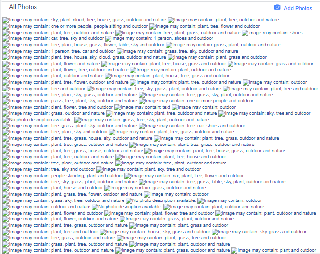 Our Screen after doing a Facebook Image Search