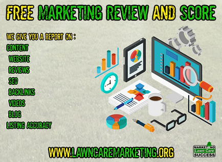 FREE Marketing Review and Score