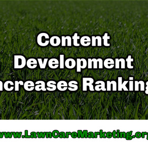 Content Development Increases Rankings