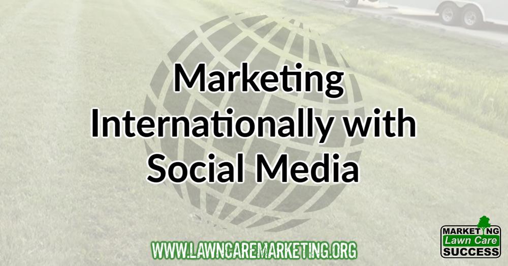 Marketing Internationally with Social Media