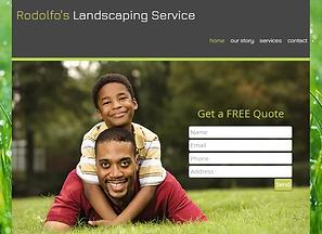 Lawn Care Website Templates