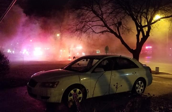Fire Started Over Night in Joliet, IL - South Surbaban Gazette Reports