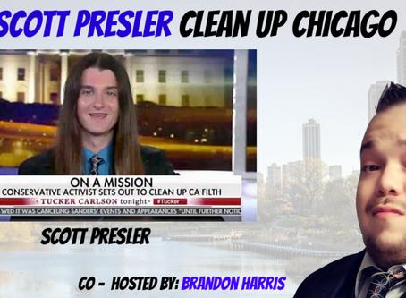Clean Up Chicago - Scott Presler and Brandon Harris