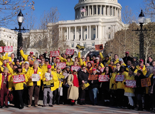 Freedom Movement USA joins FreedomWorks and 100 Plus Activist to Capitol Hill