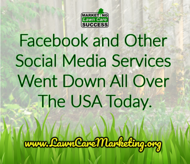Facebook and Other Social Media Services Went Down All Over The USA Today.