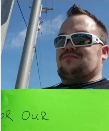 Brandon Harris - Freedom Movement USA chairman boycotting Walmart in Joliet Il Saturday  September 7th, 2019