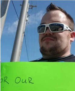 Brandon Harris - Freedom Movement USA chairman boycotting Walmart in Joliet Il Saturday  September 7th, 2019