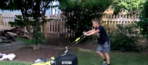Nine-year-old Silver Spring boy starts lawn-mowing company, wowing customers with cuteness